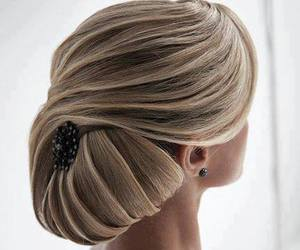 beauty and hairstyle image
