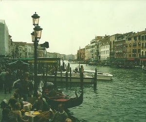 italy, sea, and venice image