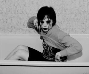 Alice Glass and black and white image
