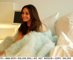 beauty, emmy rossum, and hair image
