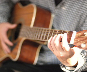 guitar, music, and boy image