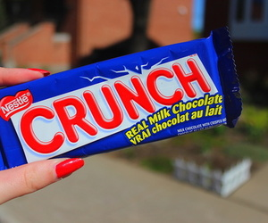 crunch, chocolate, and food image