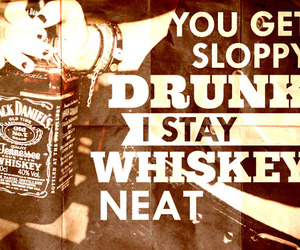whiskey, text, and typography image