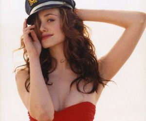 beach, beauty, and emmy rossum image