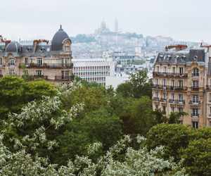 city, spring, and travel image