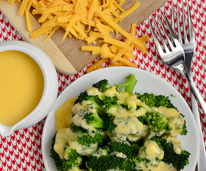 broccoli, cheese, and veggies image