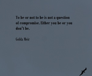 quote, meir, and golda image