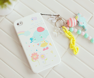 kawaii, pastel, and phone image