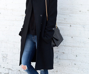 casual, clothes, and coat image