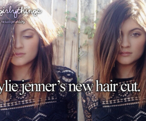 kylie jenner and justgirlythings image