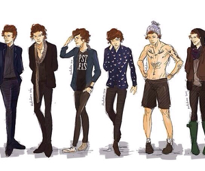 british, outfits, and one direction image