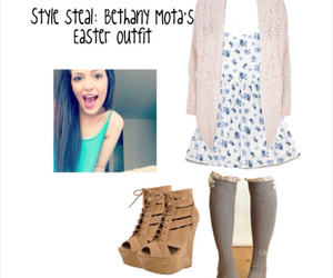 easter, outfit, and bethany mota image