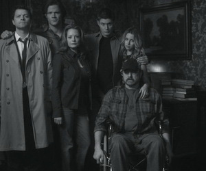 supernatural, castiel, and family image