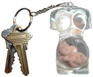 key chain, Nude, and object image