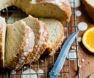 cake, citrus, and dessert image