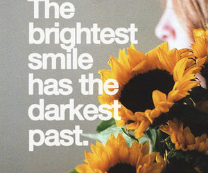 quotes, sunflowers, and brightest smile image