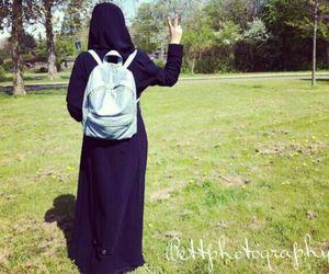 black and hijab image