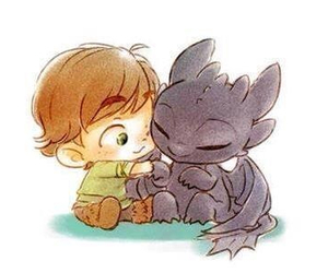 cute, dragon, and toothless image