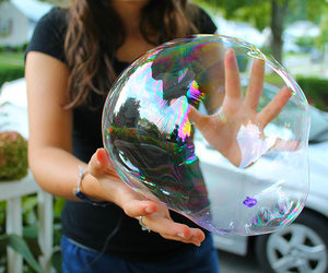 bubbles, tumblr, and cool image