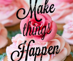 happen, make, and pink image