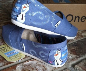 frozen, olaf, and shoes image