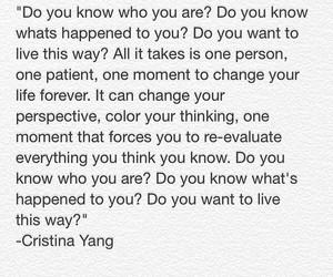 cristina yang, greys anatomy, and life image