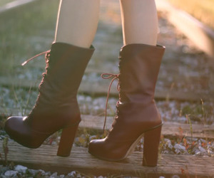 amazing, boots, and fashion image