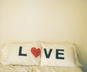 adorable, pillows, and love image