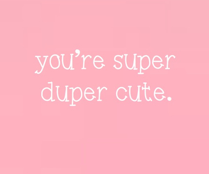 cute, pink, and quotes image