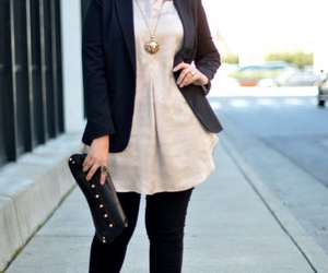 fashion, outfit, and plus size image
