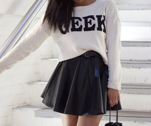 fashion, geek, and skirt image