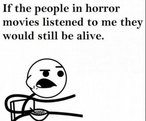alive, me, and scare image