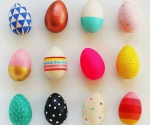 easter, eggs, and colors image