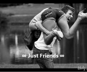 just friends, smile, and friends image
