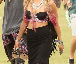 vanessa hudgens, hair, and outfit image