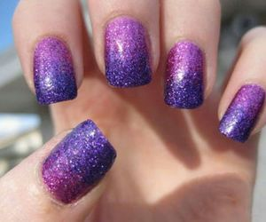glitter, lovely, and purple image