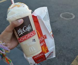 food, yum, and McDonalds image