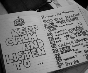 music, keep calm, and Ellie Goulding image