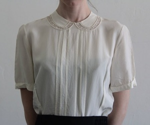 blouse and vintage image