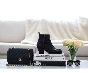 chanel, luxury, and vogue image