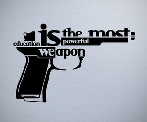 education, weapon, and gun image