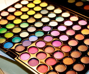 make up, makeup, and colorful image