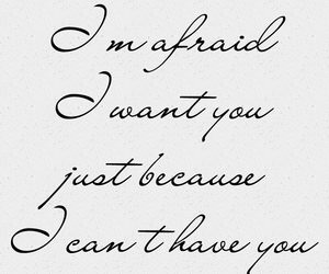 afraid, because, and cant image