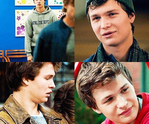 john green, ansel elgort, and mcm image