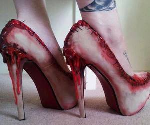 gore, shoes, and love image