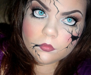 artsy, doll, and Halloween image
