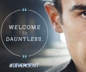 four, divergent, and dauntless image