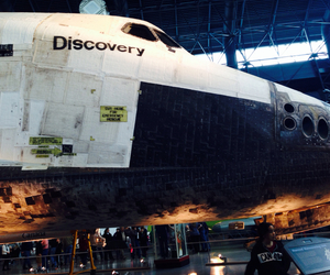 discovery, museum, and shuttle image