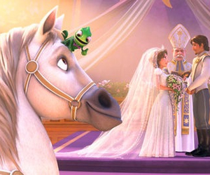 disney, wedding, and perfect image