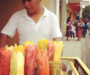 guatemala, mango, and street food image